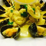 kashmiri seafood curry!! Our speciality!!