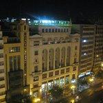 Aussicht vom 10. Stock in der Nacht