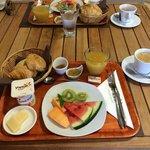 Petit-déjeuner en plateau