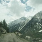 Sangla Valley - road to Chitkul.