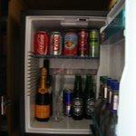 in room fridge-very pricey