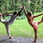Yoga at Rama Candidasa
