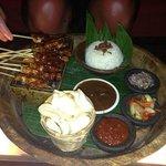 Satay Platter at Rama Candidasa