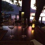 Закат в ресторане...