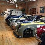 Morgan factory car collection