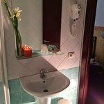 particolare bagno camera