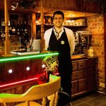 Gabri our very own singing waiter! let him serenade you??