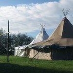 Tipi telte til fester, eller store middage arrangementer