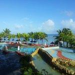 Le-meridian pool/beach area
