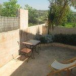 Patio privado habitación Marrakech