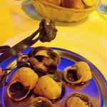Meaty juicy escargot!