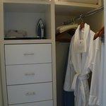 small walkin closet