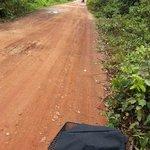Ride through the rugged roads