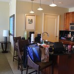 Suite has everything you need including a kitchen!