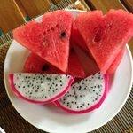colazione con frutta