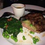 The Rib Eye Steak Special