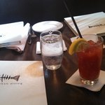 Table Setting with a Bloody Mary