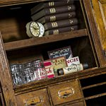 Vintage bookshelf