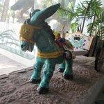 Turquoise donkey