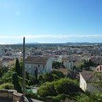Vue de la ville de Hyères