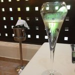 Champagne au dîner, VIP seulement