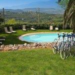 Pool and bikes