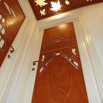 All the doors are artigianal, we made them by ourself