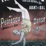 Poster at Moulin Rouge