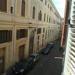 Vista dalla nostra camera