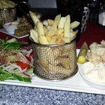 Gluten free calamari entree