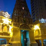 Evening view of the temple