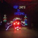 Louisville Mega Cavern's Lights Under Louisville