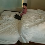 A bed-sit called a 'suite' at Langham Place Hotel, Mongkok
