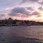Abendstimmung am Bosporus