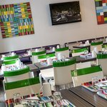 Salle petit déjeuner - Breakfast room -Hôtel Paris Louis Blanc