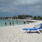 White sand, blue waters......heaven!