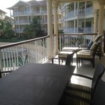 Beautiful 2nd balcony with marina/harbor views.