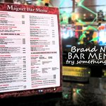 Sporting a Brand New Menu at the Magnet Bar