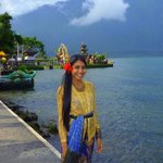 me in balinese traditional costume and temple :)