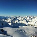 Skiing into Italy