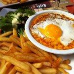 Un plat typique de la maison le Welsh!