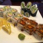 My very favorite Traditional Rolls, California Maki and Avocado Maki! I tried Sweet Potato Maki
