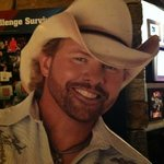 Toby Keith Cardboard Stand-up