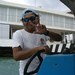 Our boat captain for a part of the excursion.