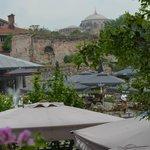 vue du restaurant sur Ste Sophie