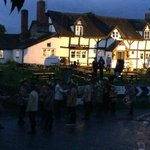 Morris Dancers Performing Out in the Street