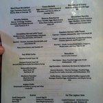 Pinky's menu