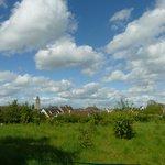 Verneuil-sur-Avre, vu de l'abbaye.