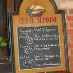 """Salon de thé """"Tamm'Bara - Erdeven - Menu du petit déj'"""