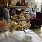 Afternoon tea tower for two